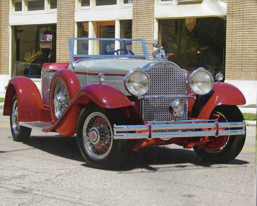 1930 Packard 734 boattail speedster