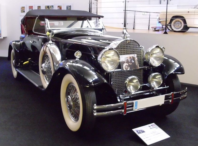 1930 Packard Custom Eight (Modell 740) Coupé-Roadster