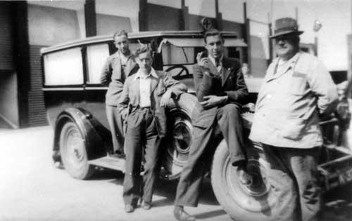 1930 PACKARD, Hennekam