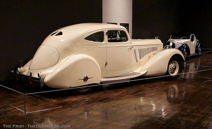 1934 Packard Twelve Model 1106 Sport Coupe by LeBaron