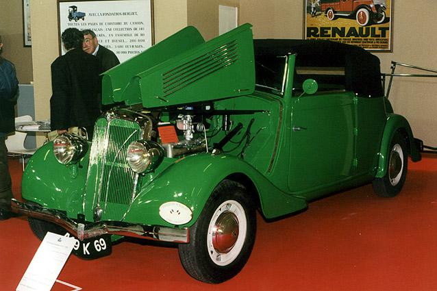1936 Berliet Dauphine 11 cv