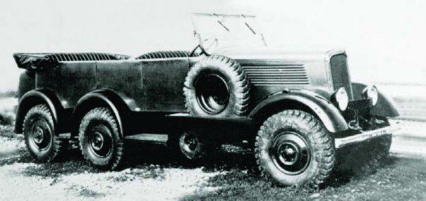 1936 Berliet VPDS, 6x6