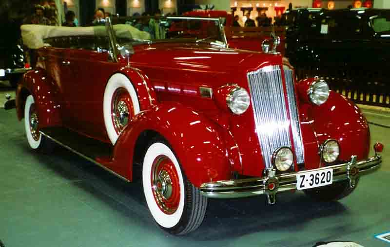 1936 Fourteenth Series Eight 120-B 997 Convertible Sedan