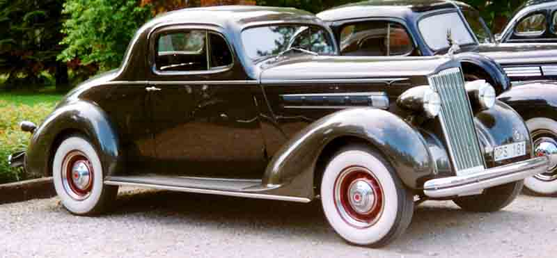 1936 Fourteenth Series Eight 120-B 998 Business Coupé