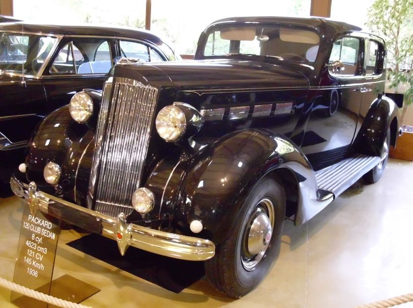 1936 Packard One-Twenty Club Sedan Model 120-B Style 996