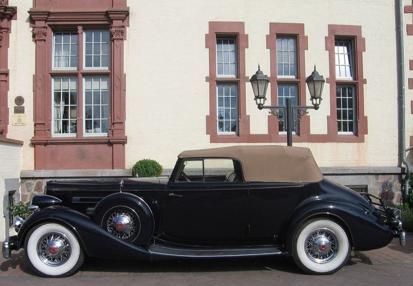 1936 Packard Twelve (V12) Modell 1406 Convertible Victoria