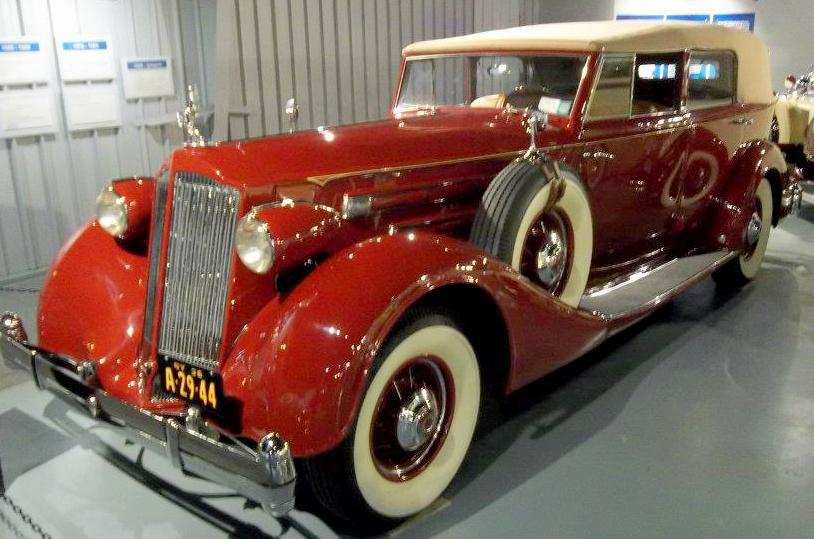 1936 Packard V-12 Convertible Sedan by Dietrich