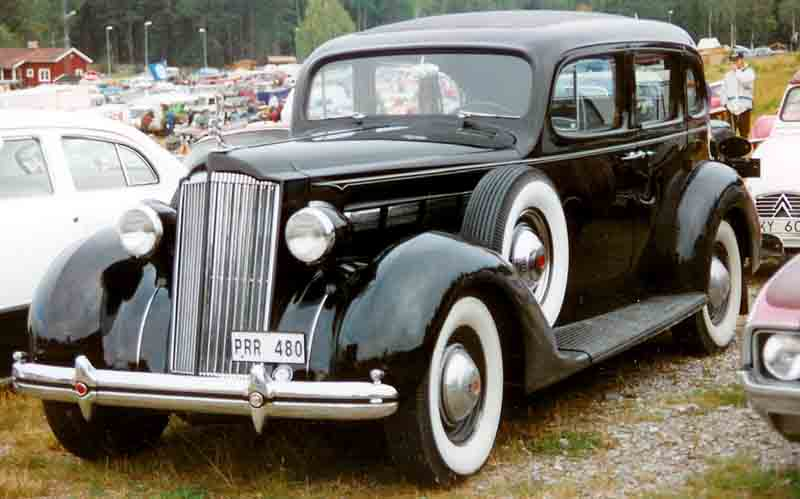 1937 Packard One Twenty Eight 4-Door Sedan