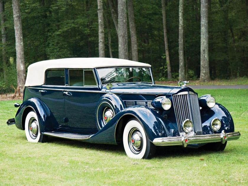 1937 Packard Super Eight Convertible Sedan