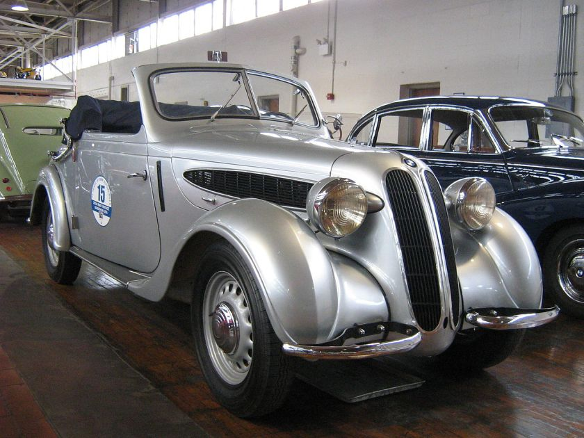 1938 BMW 320 automobile