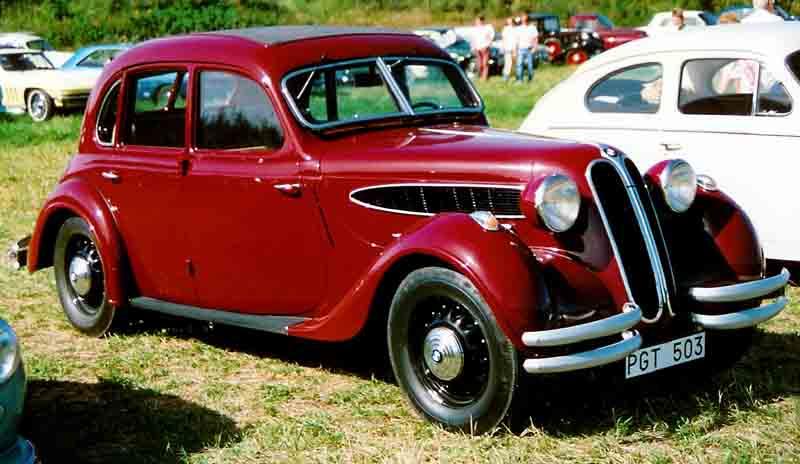 1938 BMW 326 Limousine a