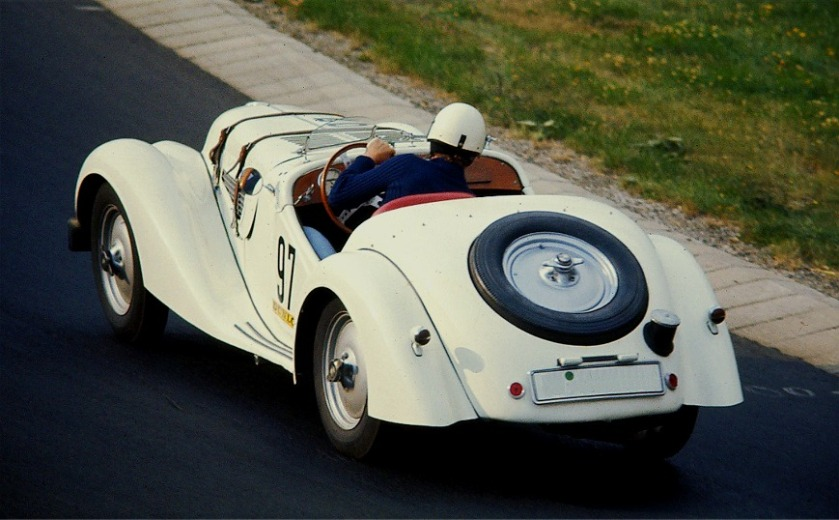 1938 BMW 328 Heck