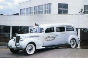 1938 Henney Packard Ambulance-S