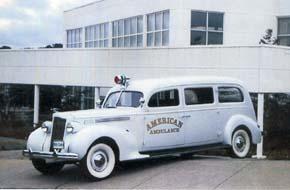 1938 Henney Packard Ambulance-S