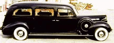 1938 packard hearse
