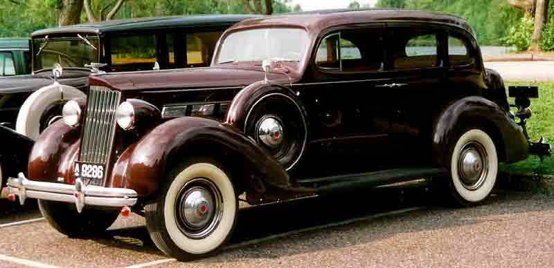 1938 Packard One Twenty Eight 4-Door Sedan a