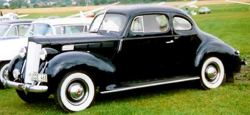 1938 Packard Six Model 1600 Club Coupe