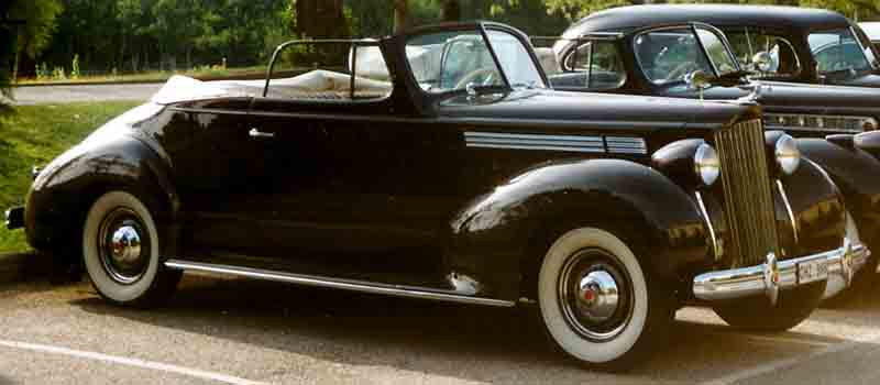 1938 Packard Sixteenth Series Eight 1601 1199 Convertible Coupé