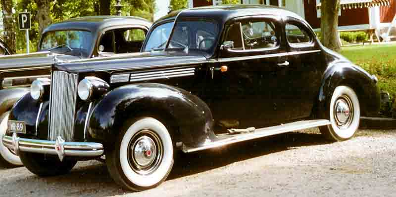 1938 Packard Sixteenth Series Eight 1601 Coupé