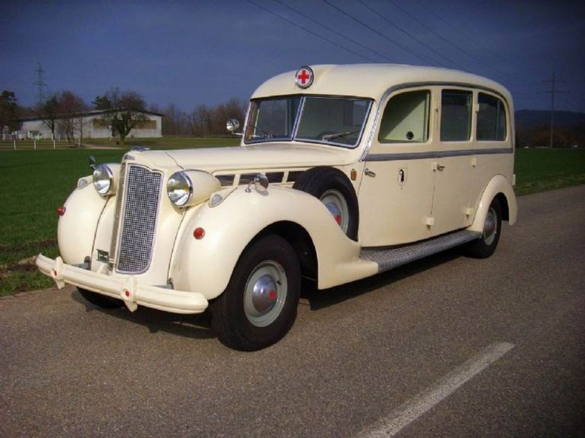 1938 Packard Super Eight Ambulance