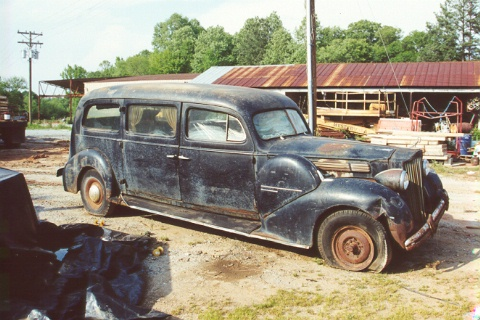 1939 Packard Limousine-Style Hearse