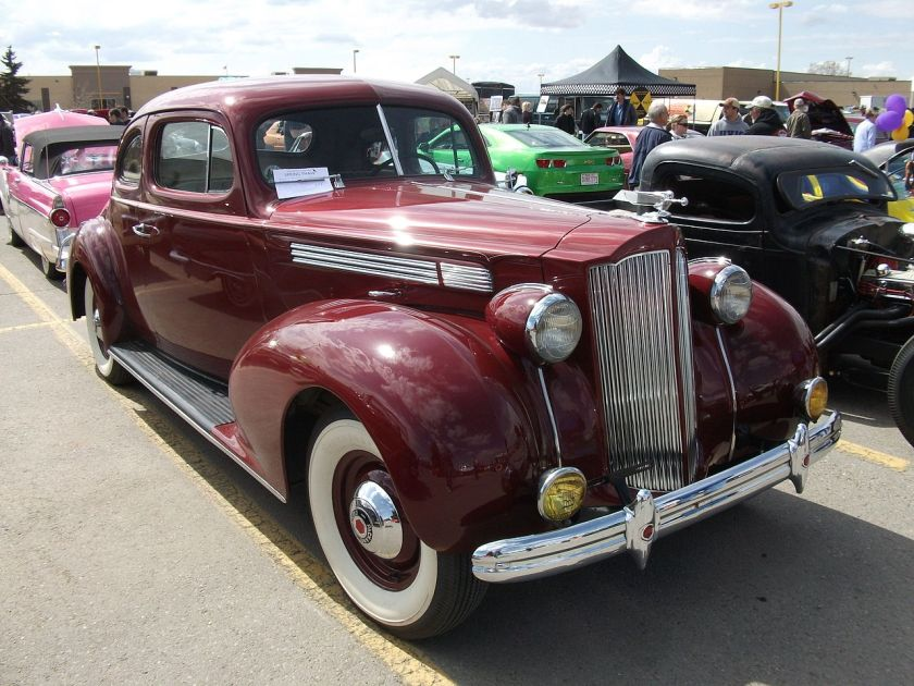 1939 Packard One-Twenty Business Coupe