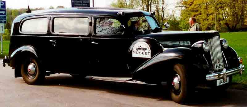 1939 Packard Seventeenth Series One Twenty 1701 Police