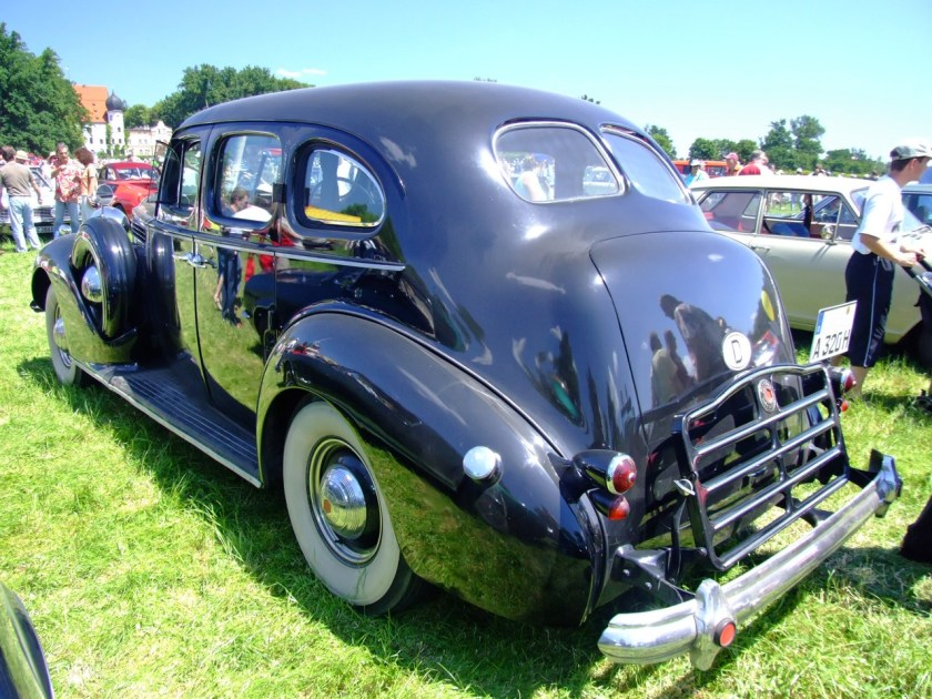 1939 Packard Super Eight Model 1705 Touring Sedan a