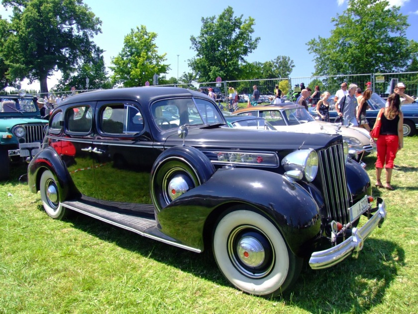 1939 Packard Super Eight Model 1705 Touring Sedan