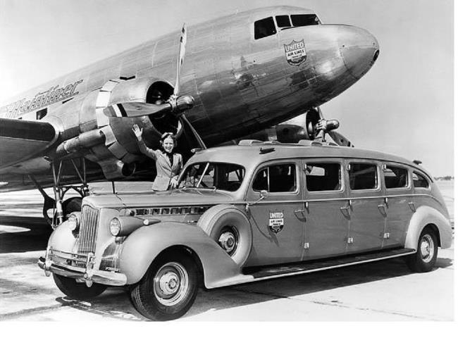 1939 Packard Taxi