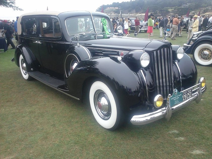 1939 Packard Twelve Formal Sedan