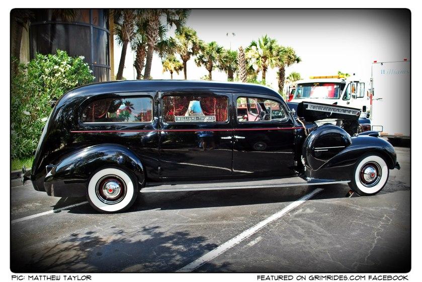 1940 Packard Henney Hearse