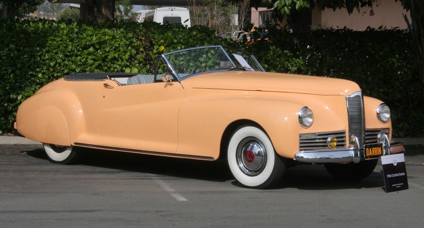 1941 Packard Clipper Darrin Convertible Victoria
