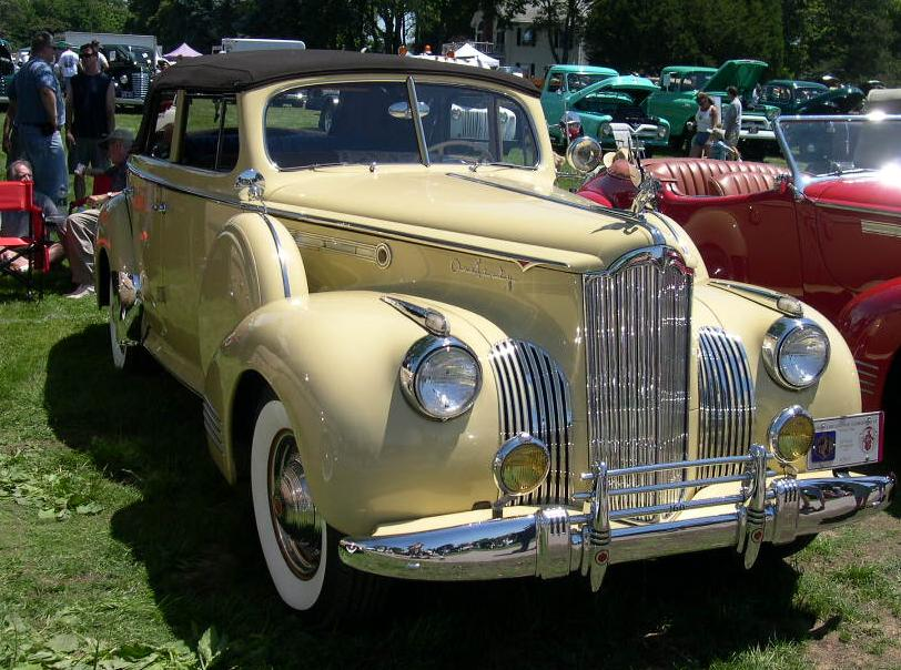 1941 Packard Super Eight One-Sixty Convertible Sedan Modell 1903