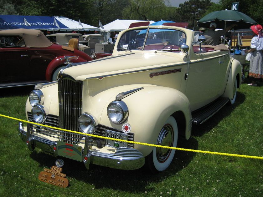1942 Packard Model 110 convertible