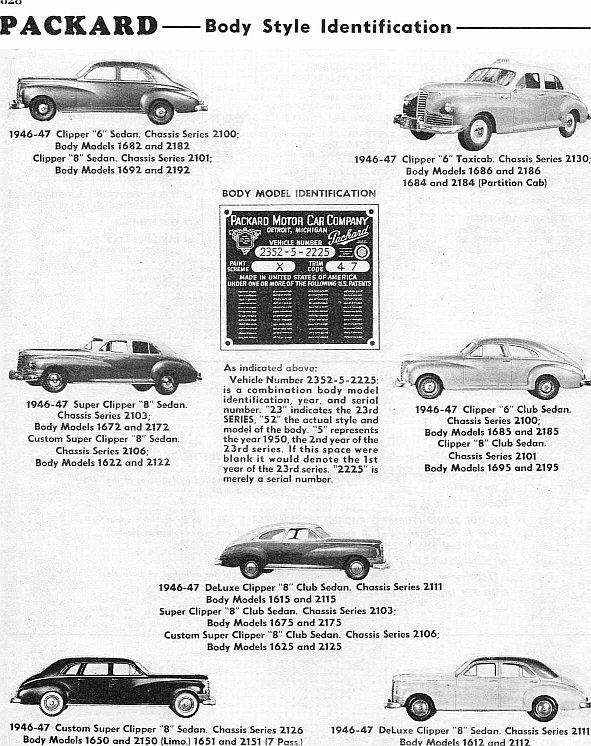 1946-47 packard
