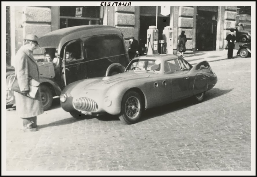1946 Cisitalia 202 MM Aerodinamico Coupe