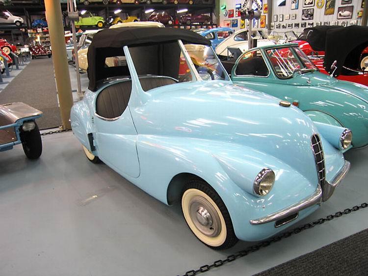 1947 A.L.C.A. Volpe Aero Caproni, Trento ITALY 125 cc