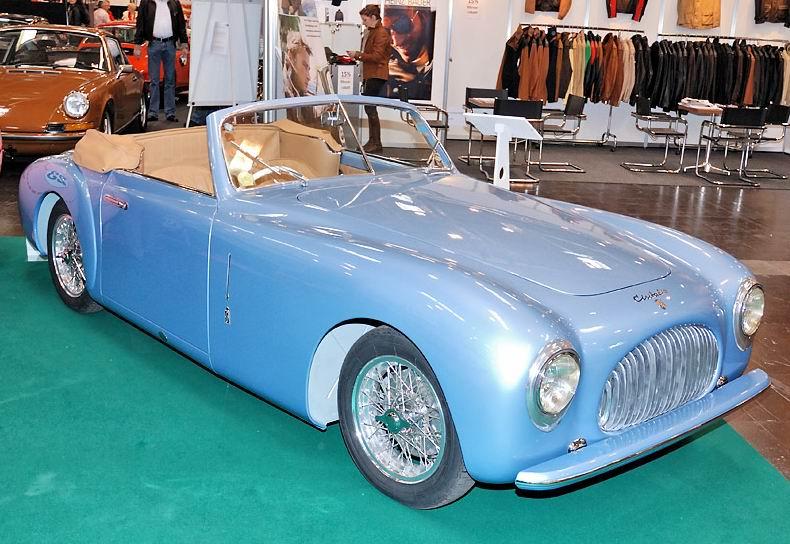 1947 Cisitalia 202 - cabriolet body by Pininfarina