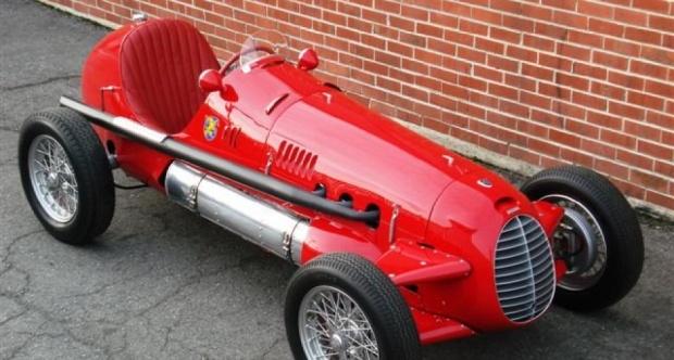 1947 Cisitalia D46 Monoposto - red a