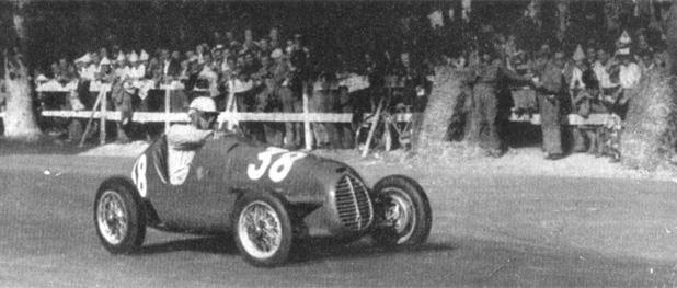 1947 Cisitalia D46 Monoposto - red b
