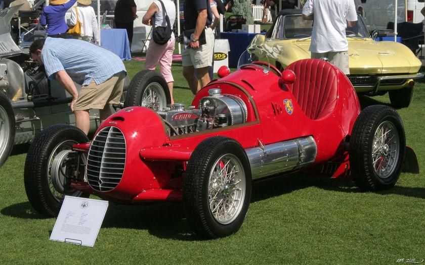 1947 Cisitalia D46 Monoposto - red