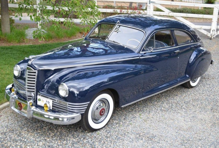 1947 Packard Custom Super Clipper Club Sedan
