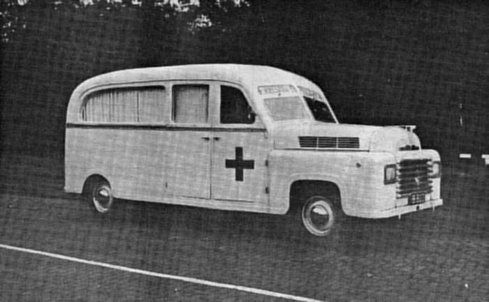 1948 Ambulance 4x4 V6 B-803