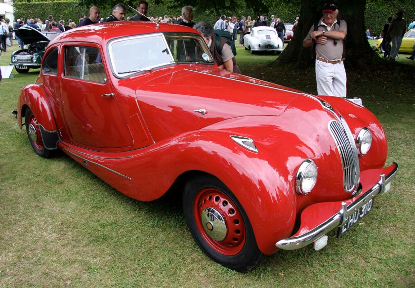 1948 Bristol 400 with double kidney grille