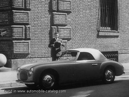 1948 Cisitalia 202 Gran Sport Convertible