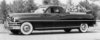 1948 Henney Packard~Flower Car