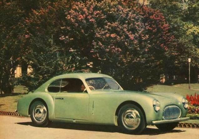 1949 Cisitalia 202 Gran Sport Coupe