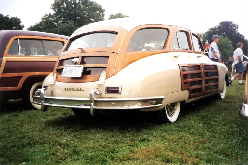 1949 Packard Station Sedan rear