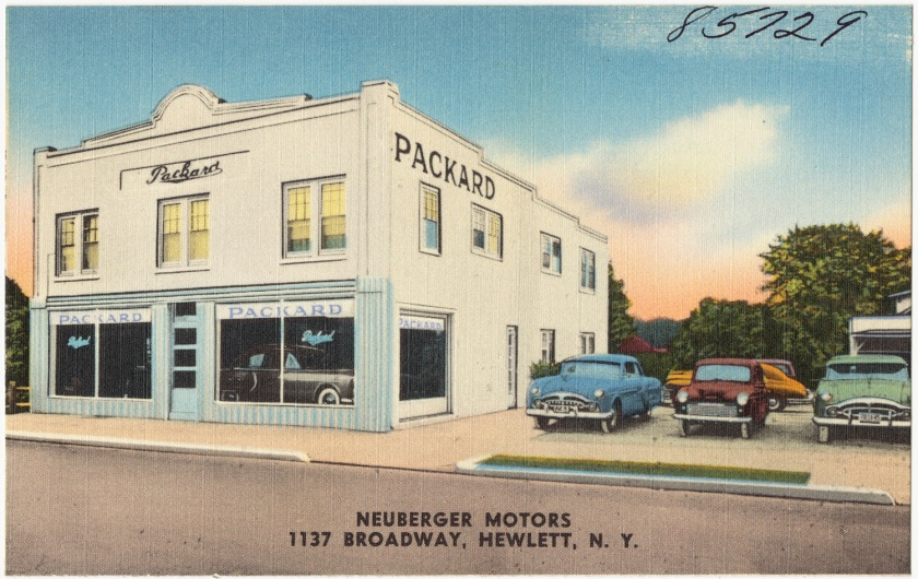 1950-55 Packard dealer in New York State